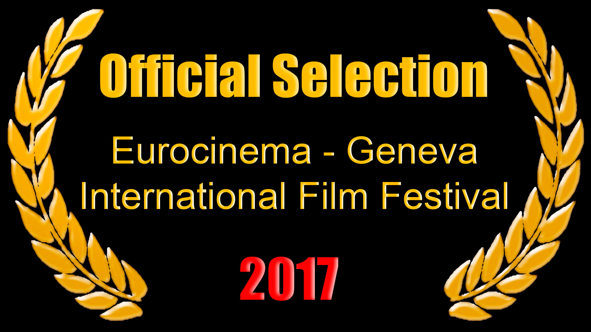 Official Selection Eurocinema - Geneva International Film Festival 2016
