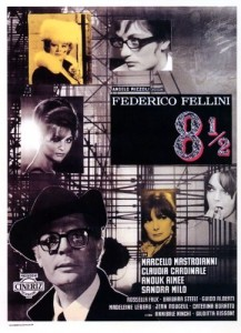8 & half - poster