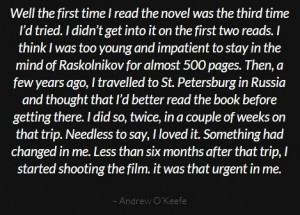 AndrewOKeefe on Dostoyevsky