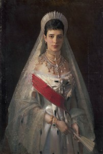 Maria Fyodorovna, born Princess Dagmar of Denmark , wife of Russian tsar Alexander III