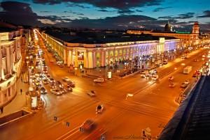 Corner - Sadovaya Street & Nevsky Prospekt- 21st century