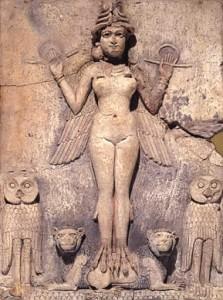 ERESHKIGAL - GODDESS OF THE UNDERWORLD