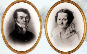 Mikhail Andreevich Dostoevsky & Maria Fyodorovna Dostoevskaya