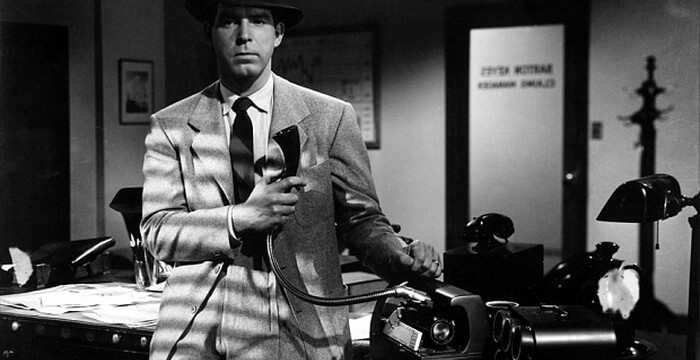 A Shot from Billy Wilder's Double Indemnity