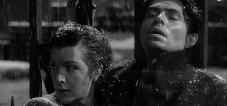 A shot from the 1947 film noir Odd Man Out