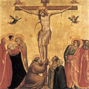 Depiction of the Crucifixion of Jesus Christ - the ultimate sacrifice