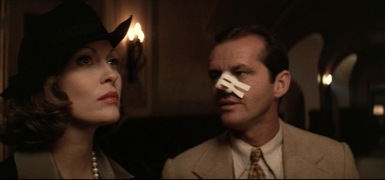 A shot from Roman Polanski's Chinatown