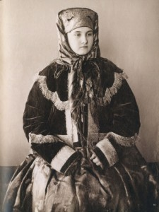 19th century's Russian merchant woman