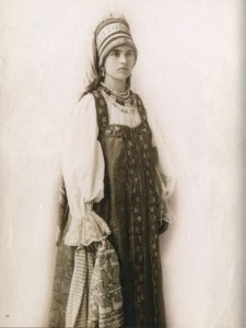 19th century Russian peasant woman