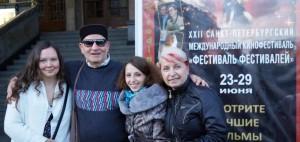 VM Productions' staff - St.Petersbrug's Festival of Festivals-6.2014