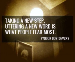 Taking a New Step...