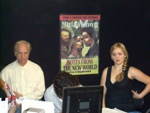 "Scene from ""Notes from the ""New World"" - was cut from the movie in the final editing."
