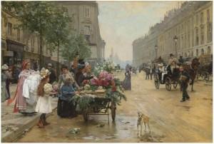 Rue Royale, Paris 1862- Louis Marie de Schryver