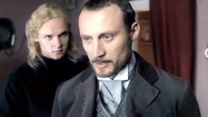 Ivan and Alyosha Karamazov - Russian TV - serial