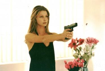 Camilla with the Gun 001