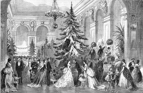 The-Christmas-tree-in-St.-Petersburg-club-of-artists.-Engraving-by-LA-Seryakov.-The-end-of-the-nineteenth-century-500x325