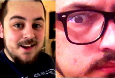 Jord (left photo) and Mark