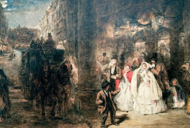 Night Haymarket 1862- William Powell Frith